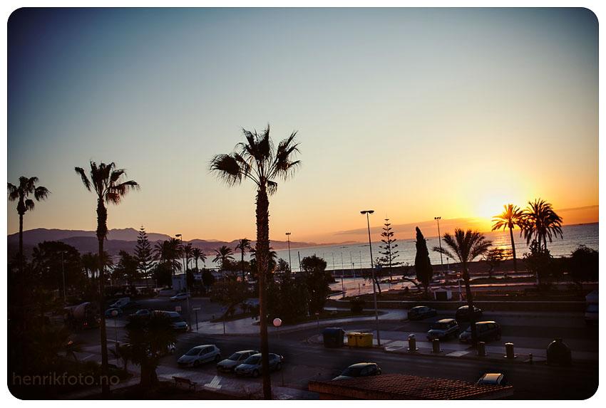Torre del mar Stranden i Malaga Spania i februar Malaga på vinteren bilder fra Malaga